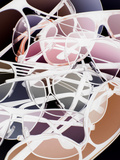 Gafas Lámina fotográfica por Graeme Montgomery
