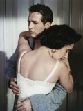 Cat on a Hot Tin Roof 1958 Directed by Richard Brooks Elizabeth Taylor and Paul Newman Fotografia