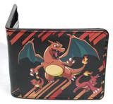 Pokemon - Charmander Evolution Leather Wallet Carteira