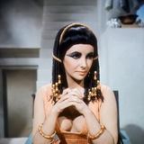 Cleopatra, Elizabeth Taylor, Directed by Joseph L. Mankiewicz, 1963 写真