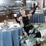 Breakfast at Tiffany's 1961 Directed by Blake Edwards Audrey Hepburn Photo