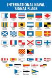 Naval Signal Nautical Flags Transportation Print Plastic Sign Plastic Sign