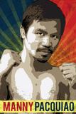 Manny Pacquiao Pacman Boxing Sports Plastic Sign Targa di plastica