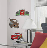 Cars 3 Foam Characters Wall Decal