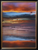 Thunderstorm Clouds over Timor Sea Before Monsoon Framed Photographic Print by Frank Krahmer