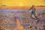 Vincent Van Gogh The Sower 3 Posters by Vincent van Gogh