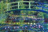 Claude Monet Water Lily Pond 2 Plastic Sign Placa de plástico por Claude Monet