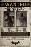 Batman Origins - Wanted Stampa