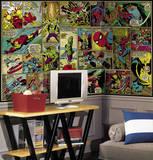 Marvel Classics Comic Panel Mural Wall Mural