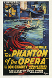 The Phantom of the Opera Movie Lon Chaney 1925 Plastic Sign Plastskylt