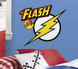 Classic Flash Logo Peel and Stick Giant Wall Decals Wall Decal