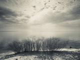 Clouds Over a Lake, Lake Peipsi, Kauksi, Ida-Viru County, Estonia Photographic Print by Green Light Collection