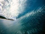 Wave Splashing in the Sea Fotografisk trykk