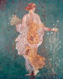 Pompeii Fresco II Giclée-tryk af  The Vintage Collection