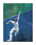The Racquet Player Premium Giclee-trykk av Cecil Beaton