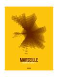 Marseille Radiant Map 3 Affiches par  NaxArt