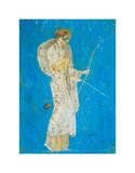 Pompeii Fresco I Plakater av  The Vintage Collection