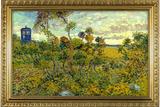 Vincent Van Gogh Tardis at Montmajour Plastic Sign Placa de plástico