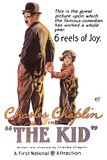 The Kid Movie Charlie Chaplin Plastic Sign Plastic Sign
