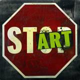 Start Kunst von Daniel Bombardier