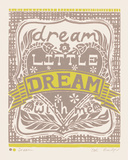 Dream a Little Dream with Me Giclee Print by Zoe Badger