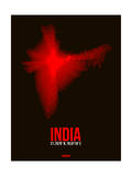 India Radiant Map 4 Arte por  NaxArt