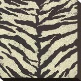 Zebra Skin Stretched Canvas Print by Susan Clickner
