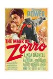 The Mark of Zorro (aka La Marca Del Zorro) Affiches