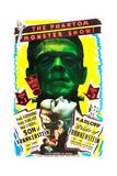 Bride of Frankenstein / Son of Frankenstein double feature poster featuring Boris Karloff Kunstdrucke