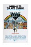 LOGAN'S RUN, US poster, bottom from left: Michael York, Jenny Agutter, 1976 Posters