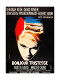 Bonjour Tristesse, French poster art, Jean Seberg, 1958 Prints
