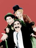 HORSE FEATHERS, from left: Groucho Marx, Chico Marx, Harpo Marx, 1932 Foto
