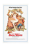 THE NEW ADVENTURES OF SNOW WHITE (aka GRIMM'S FAIRY TALES FOR ADULTS Affiches