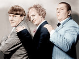 Disorder in the Court, Moe Howard, Larry Fine, Curly Howard, (aka The Three Stooges) Foto