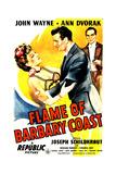 Flame of The Barbary Coast, Ann Dvorak, John Wayne, Joseph Schildkraut, 1945 Posters