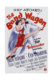 THE BAND WAGON, Cyd Charisse, Fred Astaire, 1953 Poster