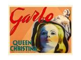 Queen Christina, Greta Garbo, 1933 Pôsters