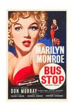 Bus Stop, Marilyn Monroe on US poster art, 1956 Poster