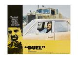 Duel, Dennis Weaver, 1971 Giclée-Premiumdruck