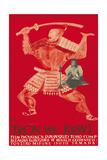 Throne of Blood (aka Tron we Krwi), Isuzu Yamada, Polish poster art, 1957 Kunstdrucke