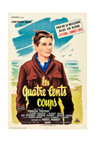 The 400 Blows (aka Les Quarte Cents Coups) Poster