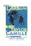 Camille, Robert Taylor, Greta Garbo, 1936 Pôsters