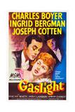 Gaslight, Charles Boyer, Ingrid Bergman, Joseph Cotten, 1944 Print