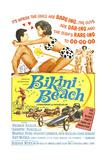 Bikini Beach, Frankie Avalon, Annette Funicello, 1964 Poster