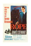 ROPE, poster art, James Stewart, 1948 Prints