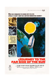 JOURNEY TO THE FAR SIDE OF THE SUN, US poster, 1969 Kunstdruck