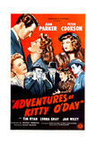 Adventures of Kitty O'Day, Peter Cookson, Jean Parker, Lorna Gray, 1945 Poster