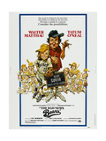 THE BAD NEWS BEARS, US poster, from left: Tatum O'Neal, Walter Matthau, 1976 ポスター