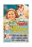 REBECCA OF SUNNYBROOK FARM, Phyllis Brooks, Shirley Temple, Randolph Scott, Gloria Stuart, 1938, Poster
