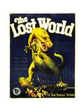 THE LOST WORLD, 1925. Giclée-Premiumdruck